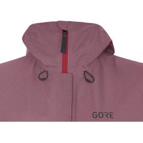 GORE WEAR H5 Gore-Tex Jas Dames, chestnut red/hibiscus pink